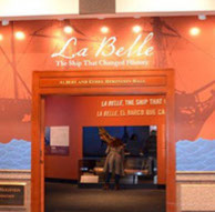 texas state history la belle entrance-crop-u16759